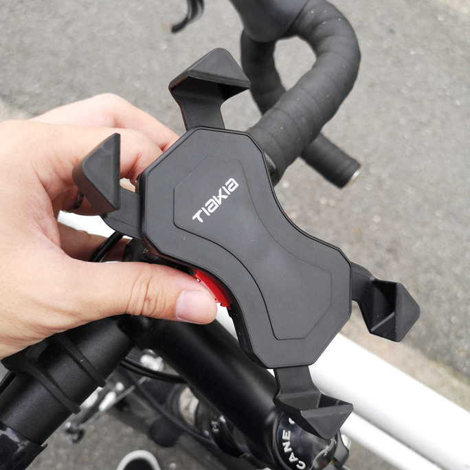 スマホを自転車ナビにできる。TiaKia PB03-ACレビュー